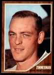 1962 Topps #222  Jerry Zimmerman  Front Thumbnail