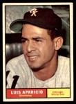 1961 Topps #440  Luis Aparicio  Front Thumbnail