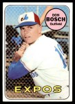 1969 Topps #578  Don Bosch  Front Thumbnail