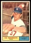 1961 Topps #6  Ed Roebuck  Front Thumbnail