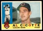 1960 Topps #473  Al Cicotte  Front Thumbnail
