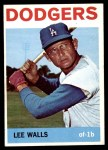 1964 Topps #411  Lee Walls  Front Thumbnail