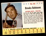 1963 Jello #59  Brooks Robinson  Front Thumbnail