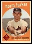 1959 Topps #107  Norm Larker  Front Thumbnail