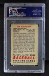 1951 Bowman #287  Jim Blackburn  Back Thumbnail
