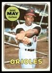 1969 Topps #113  Dave May  Front Thumbnail