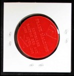 1959 Armour Coins #12 RED  Frank Malzone  Back Thumbnail