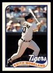 1989 Topps Traded #83 T Keith Moreland  Front Thumbnail