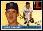 1955 Topps #176  Norm Zauchin  Front Thumbnail