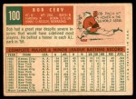 1959 Topps #100  Bob Cerv  Back Thumbnail