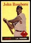 1958 Topps #42  John Roseboro  Front Thumbnail