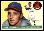 1955 Topps #7  Jim Hegan  Front Thumbnail