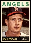 1964 Topps #149  Paul Foytack  Front Thumbnail