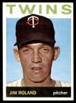 1964 Topps #341  Jim Roland  Front Thumbnail