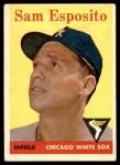 1958 Topps #425  Sammy Esposito  Front Thumbnail