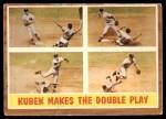 1962 Topps #311   -  Tony Kubek  Makes the Double Play Front Thumbnail