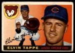 1955 Topps #129  Elvin Tappe  Front Thumbnail
