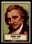 1952 Topps Look 'N See #78  Thomas Paine  Front Thumbnail