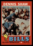 1971 Topps #235  Dennis Shaw  Front Thumbnail
