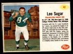 1962 Post #42  Leo Sugar  Front Thumbnail