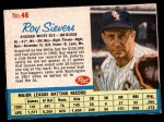 1962 Post Cereal #46  Roy Sievers   Front Thumbnail