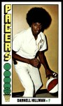 1976 Topps #86  Darnell Hillman  Front Thumbnail