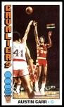 1976 Topps #53  Austin Carr  Front Thumbnail