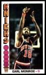 1976 Topps #98  Earl Monroe  Front Thumbnail