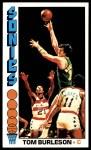 1976 Topps #41  Tom Burleson  Front Thumbnail