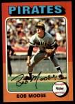 1975 Topps #536  Bob Moose  Front Thumbnail
