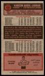 1976 Topps #100  Kareem Abdul-Jabbar  Back Thumbnail