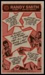 1976 Topps #135  Randy Smith  Back Thumbnail