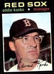 1971 Topps #31  Eddie Kasko  Front Thumbnail