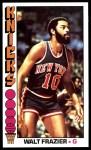 1976 Topps #64  Walt Frazier  Front Thumbnail