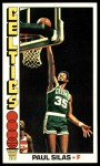1976 Topps #3  Paul Silas  Front Thumbnail
