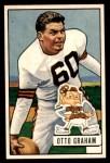 1951 Bowman #2  Otto Graham  Front Thumbnail