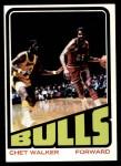 1972 Topps #152  Chet Walker   Front Thumbnail