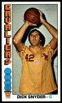1976 Topps #2  Dick Snyder  Front Thumbnail