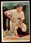 1957 Topps #295  Joe Collins  Front Thumbnail