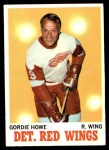 1970 Topps #29  Gordie Howe  Front Thumbnail