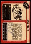 1968 O-Pee-Chee #159  Bill Flett  Back Thumbnail