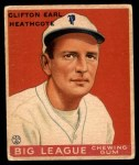 1934 World Wide Gum #9  Clifton Heathcote  Front Thumbnail