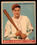 1933 World Wide Gum #70  Adam Comorosky    Front Thumbnail