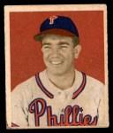 1949 Bowman #92  Willie Jones  Front Thumbnail