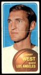 1970 Topps #160  Jerry West   Front Thumbnail