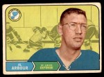 1968 O-Pee-Chee #128  Al Arbour  Front Thumbnail