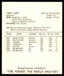 1965 Kahn's  Rico Carty  Back Thumbnail