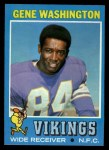 1971 Topps #130  Gene Washington  Front Thumbnail