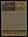 1971 Topps #194  Lee Bouggess  Back Thumbnail