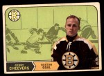 1968 O-Pee-Chee #140  Gerry Cheevers  Front Thumbnail